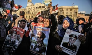 Sisi supporters