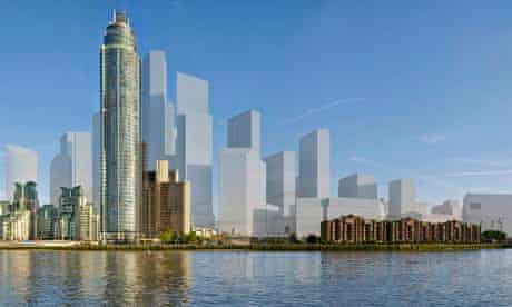 New London towers