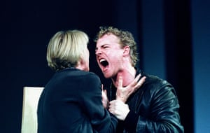 "MARTY CRUICKSHANK AND SAMUEL WEST IN ""HAMLET"" @  RSC, STRATFORD-UPON-AVON (OPENING 2-5-01)"