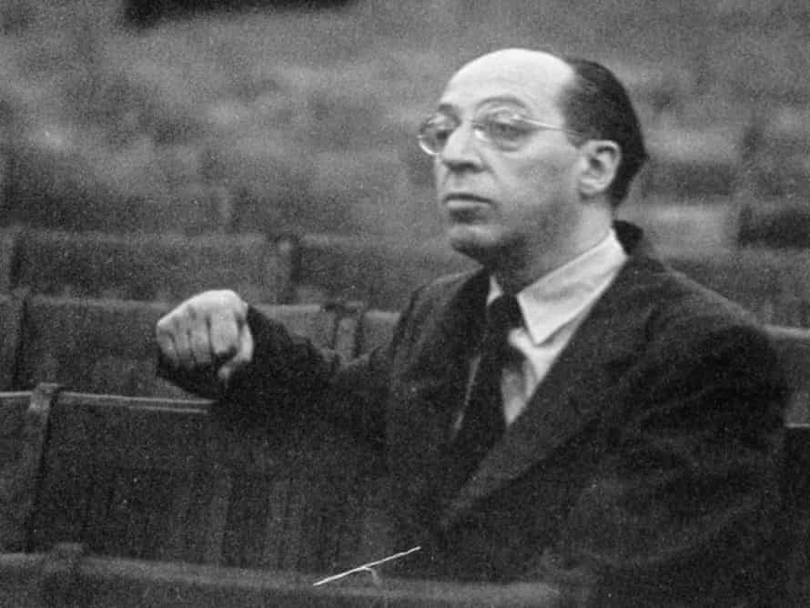 Composer Aaron Copland photographed in October 1948