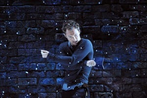 Jude Law (Hamlet) in Hamlet part of Donmar West End @ Wyndhams Theatre, London (Opening 3-06-09)