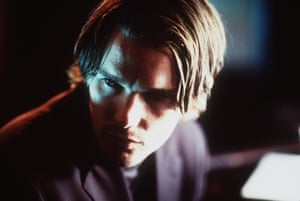 "Actor Ethan Hawke stars in Michael Almereyda's ""Hamlet,"" released May 12, 2000."