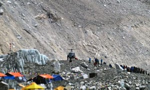 Mount Everest rescue operation