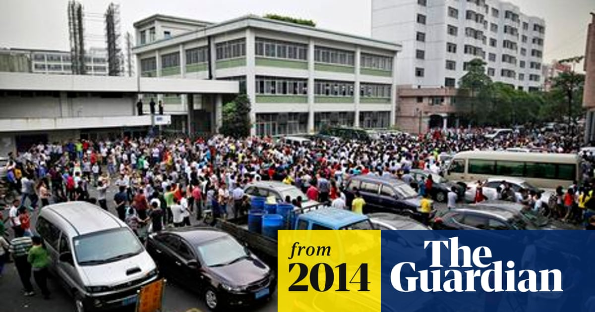 Espectador expedido tranquilo  Strike spreads at Chinese supplier to Adidas and Nike | China | The Guardian