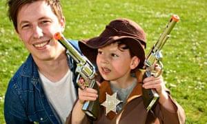 Matt Gaw with his son Seth