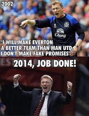 David Moyes sacking memes - in pictures | Football | The ...