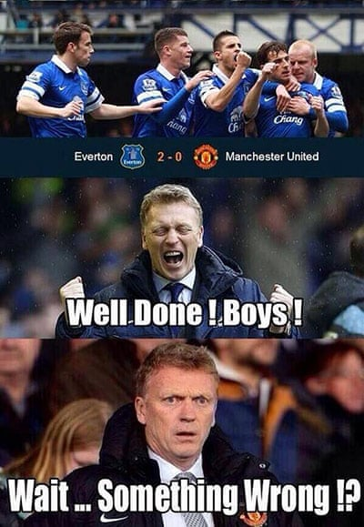 David Moyes Sacking Memes In Pictures Football The Guardian