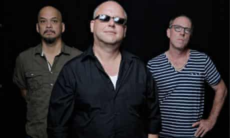 'Blighted':  Joey Santiago, Black Francis and David Lovering of the Pixies.