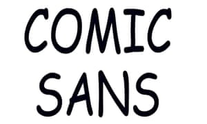 Digital Illustration - Comic Sans