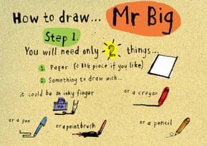 Mr Big How to draw: 1 Mr Big