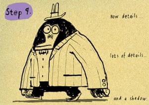 Mr Big How to draw: 9 Mr Big