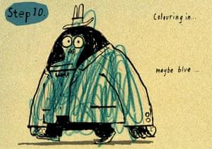 Mr Big How to draw: 10 Mr Big