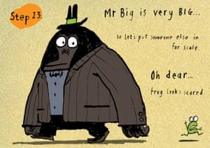 Mr Big How to draw: 13 Mr Big