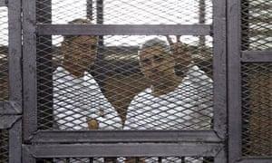 Al-Jazeera English journalists Mohamed Fahmy and Peter Greste