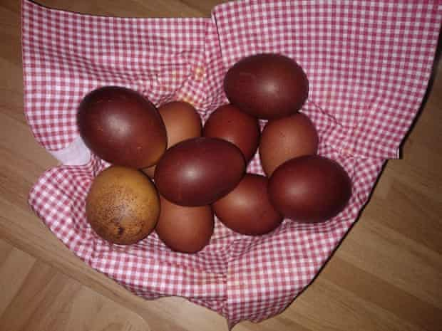 Georgian orthodox Easter eggs