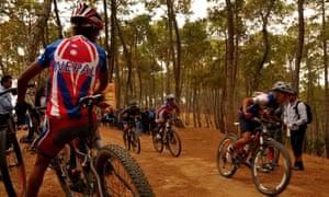 Kathmandu mountain bike festival