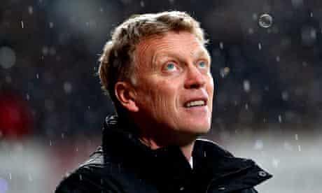 David Moyes sacking Manchester United