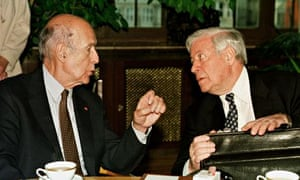Helmut Schmidt, Valéry Giscard d'Estaing