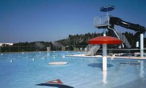 Davis Islands pool in Tampa, Florida