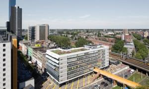 Luchtsingel complex in Rotterdam