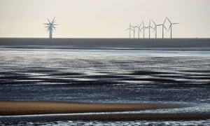 Burbo Bank windfarm is one of the projects given backing under the new deal