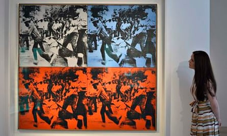 Warhol's Birmingham Race Riot work is headed to auction at Christies in New York