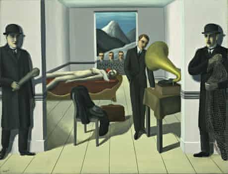 The Menaced Assassin (L'Assassin menace) (1926) by René Magritte