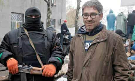 Simon Ostrovsky in Ukraine