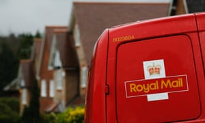 A postal van parked in Maybury near Woking. The Royal Mail first trialled the postcode in Norwich during the 1950s.