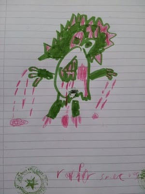 How to draw dinosaurs: By Luke, aged 6