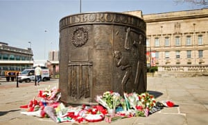 The Hillsborough Monument in Liverpool