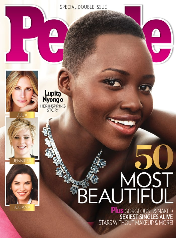 Lupita Nyongo Named Peoples Most Beautiful Person In The World