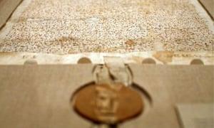 Sothebys Auctions Off Rare Copy Of Magna Carta