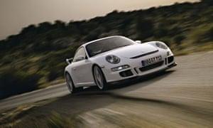 Porsche 911 GT3 sports car