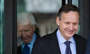 Barclays CEO Antony Jenkins and chairman Sir David Walker