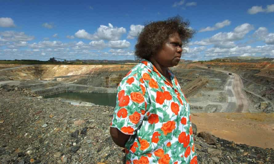 Traditional owner Yvonne Margarula at Ranger mine on Mirarr country in Kakadu national park