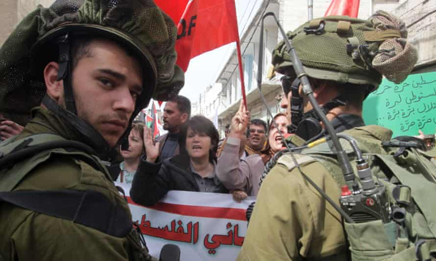 Israel Palestinian protesters