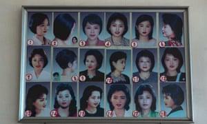 North Korea hairstyles