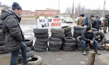 Situation in Ukraine's Donetsk Region