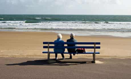 Ageing without children: elderly couple