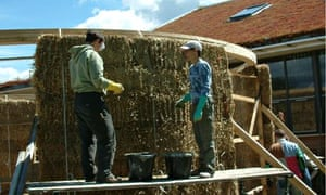 Insulating your home try recycled materials from curtains to insulation straw ecology building societys meeting room in silsden west yorkshire solutioingenieria Choice Image
