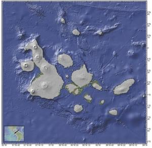 The Galapagos at 20,000 years ago