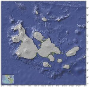 The Galapagos at 630,000 years ago