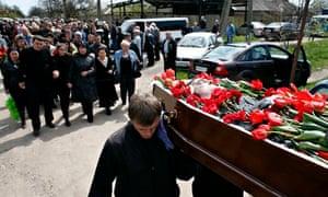 Vladimir Rybak funeral