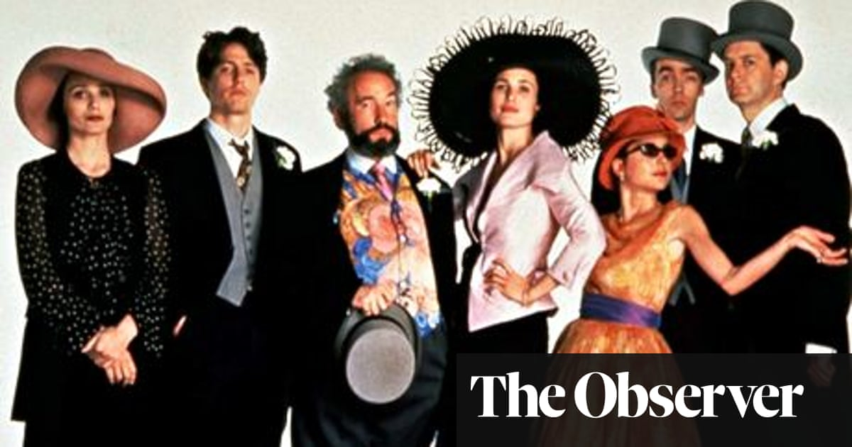 Four Weddings And A Funeral 20 Years On Richard Curtis Remembers Four Weddings And A Funeral The Guardian