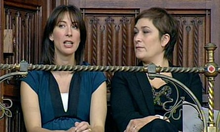 Sarah Vine with Samantha Cameron