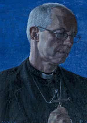 Archbishop of Canterbury portrait goes on display