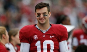 AJ McCarron of the Alabama Crimson Tide.