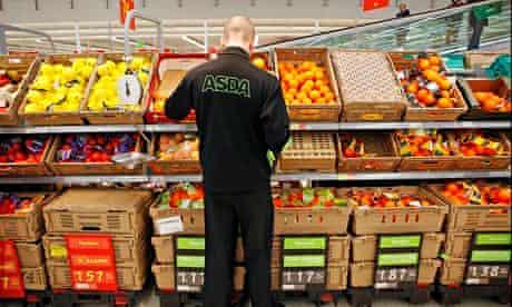 Asda fresh produce stock