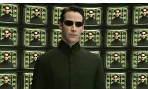 Keanu Reeves as Neo in Matrix Reloaded